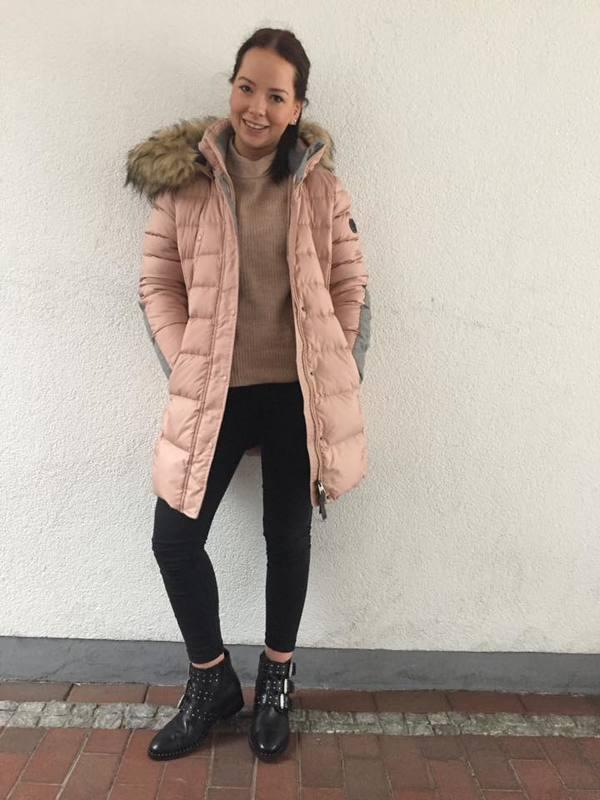 rosa-winterjacke